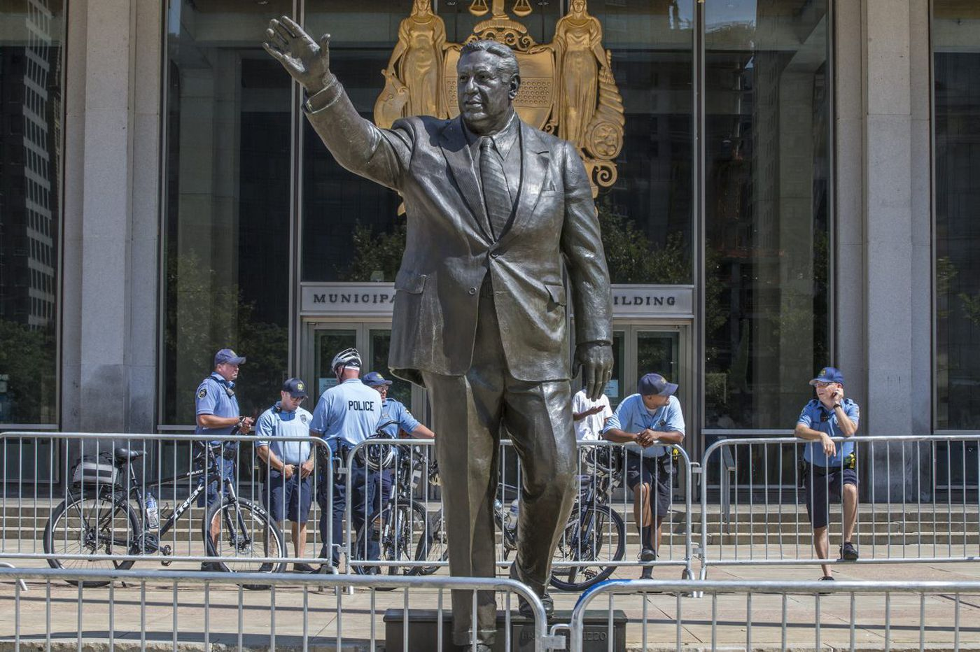 Rizzo statue egged, N.J. man arrested