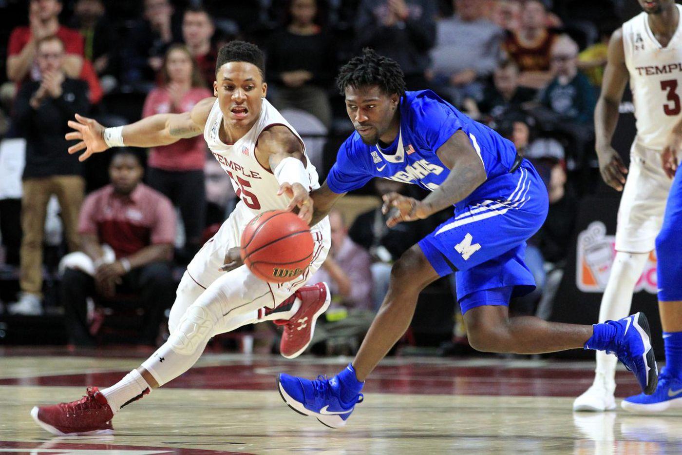 Villanova steps up its defense, Temple freshman Nate Pierre-Louis emerges | Local college basketball roundup