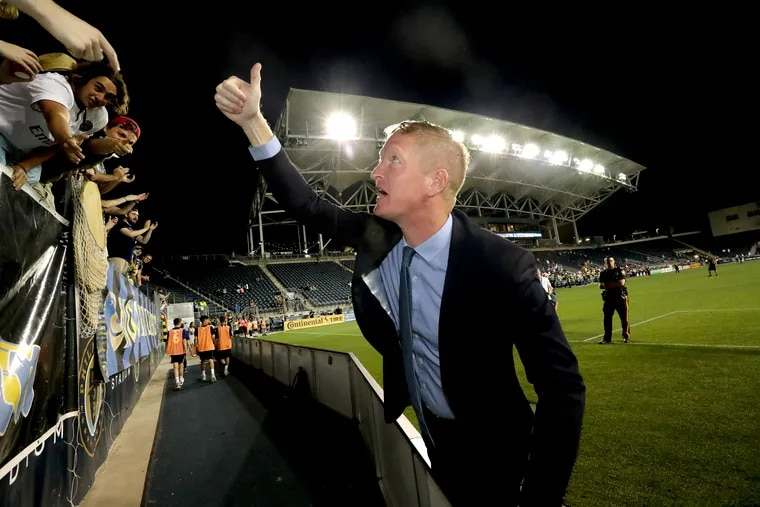 Jim Curtin will coach against his former coach, Bob Bradley, when the Philadelphia Union visit Los Angeles FC.