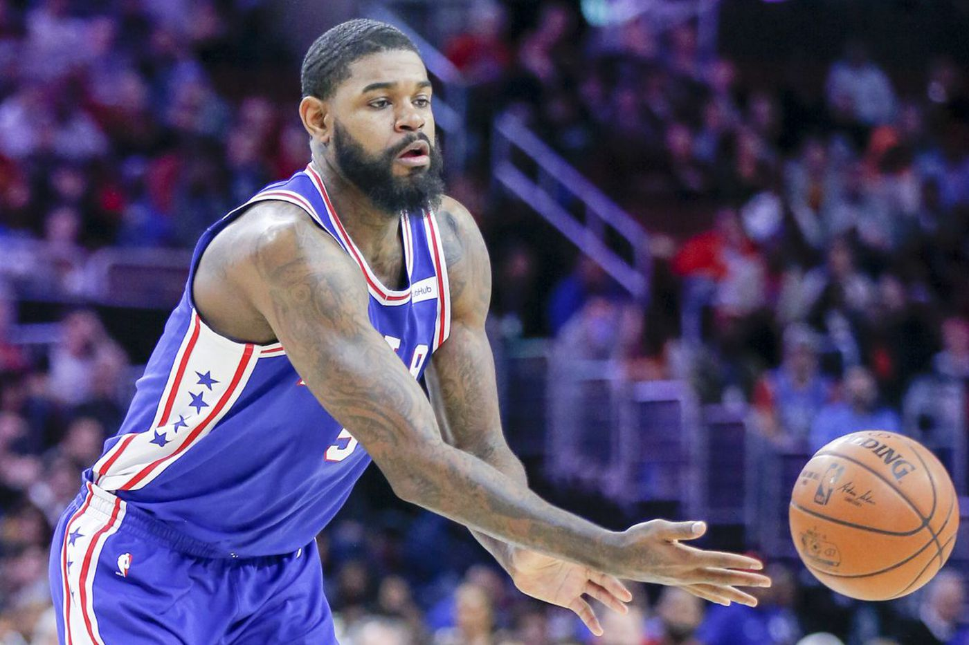 Sixers to start Amir Johnson at center for Joel Embiid against Bulls
