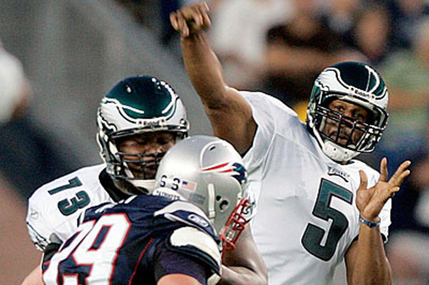 Eagles - Jackson, Demps help spark Eagles' win over Patriots