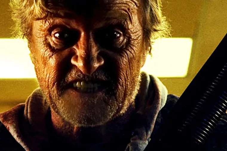 "Rutger Hauer stars in ""Hobo with a Shotgun."" (Karim Hussain / Magnet Releasing)"