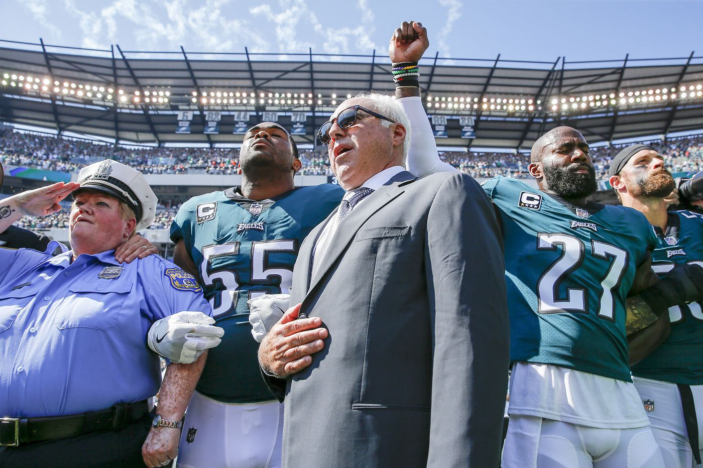 Jeffrey Lurie should rebuke owners' anthem policy for Eagles' sake | Marcus Hayes