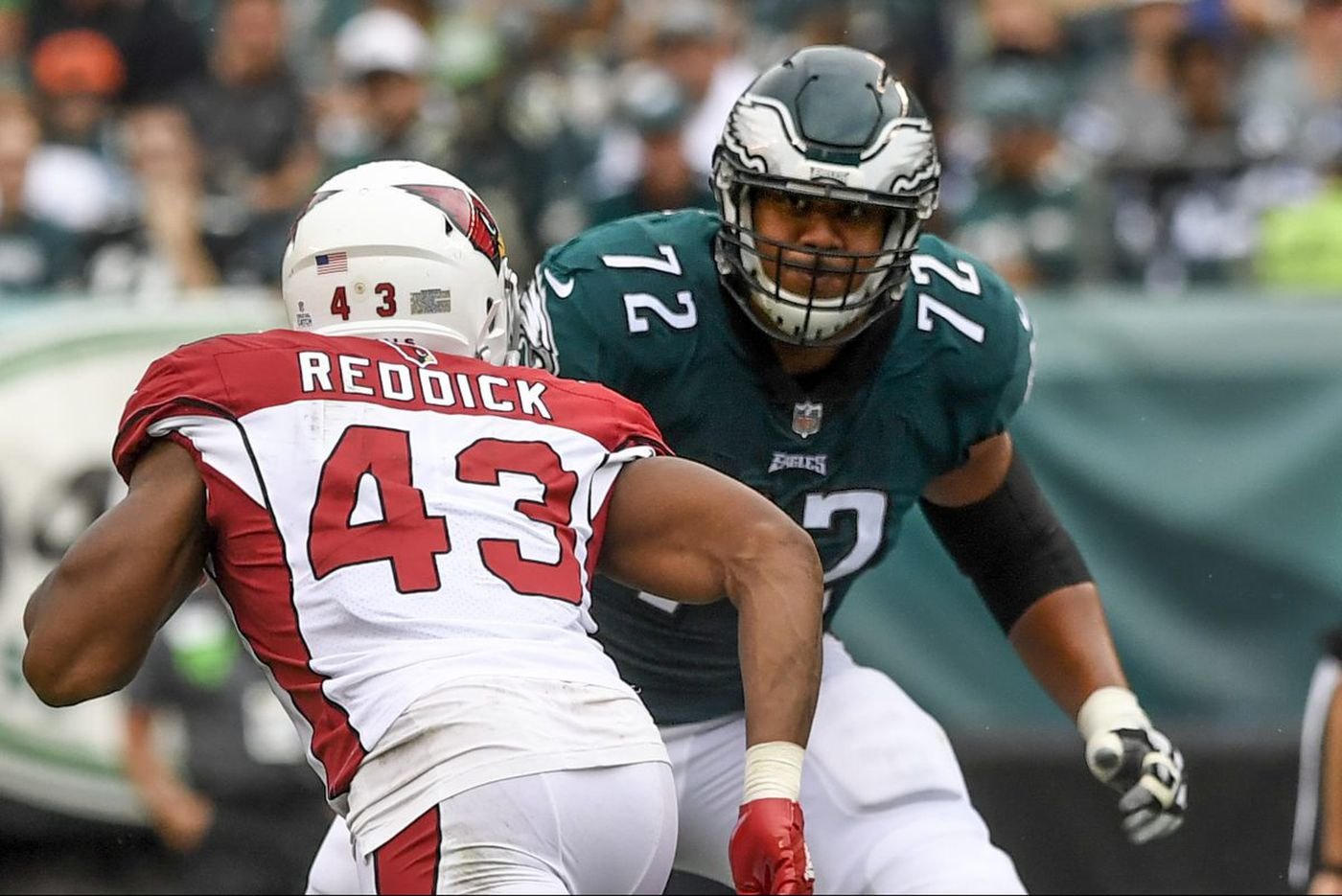 Eagles' subs likely to be tested again Thursday