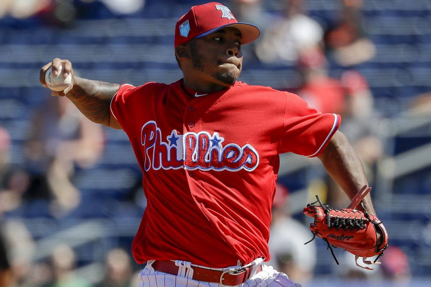 How Phillies pitcher Edubray Ramos regained his confidence