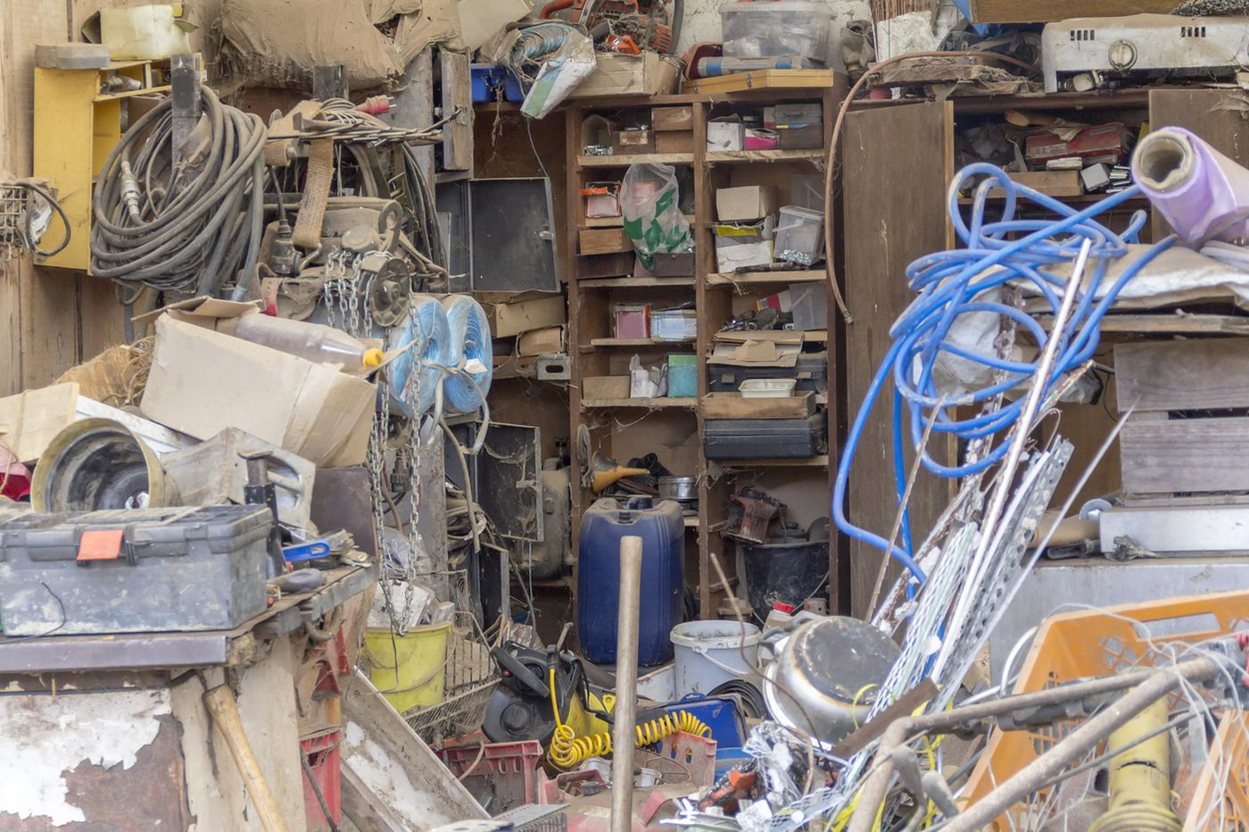 Hoarding, a big problem among the elderly, starts in childhood, expert says