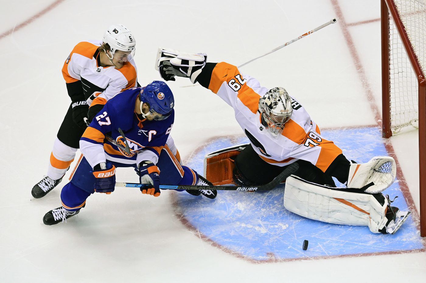 The Flyers' season needed saving in Game 6, and Carter Hart was there to rescue them again | Mike Sielski
