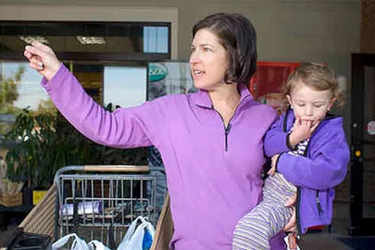 "Longtime customer Nancy Demetrius called the impending closing of the Towamencin Village Square Genuardi's ""sad."" (Ed Hille / Staff Photographer)"