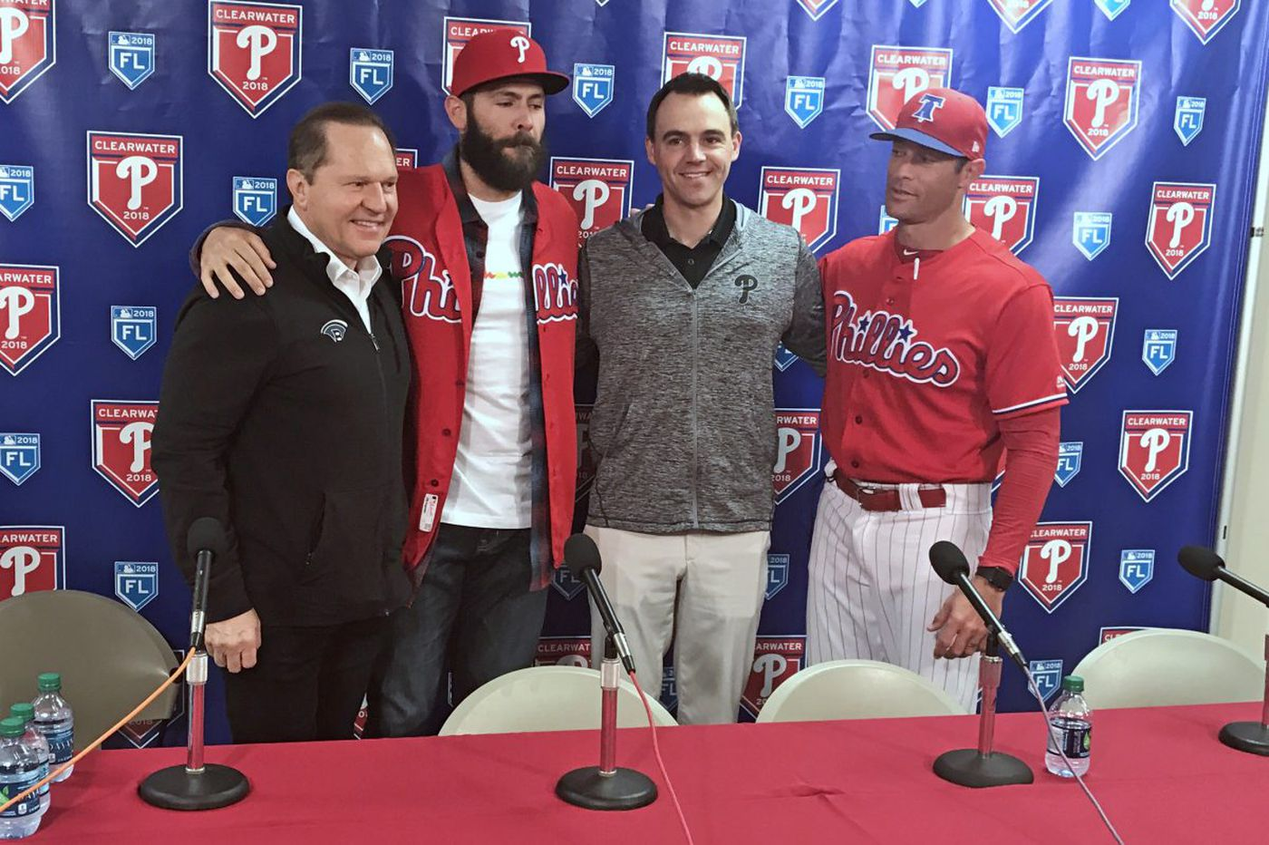 Jake Arrieta expects to be ready for start of Phillies season