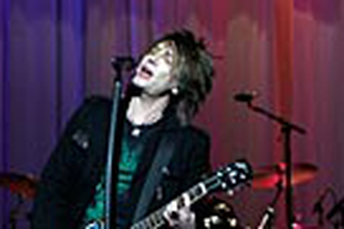 Music: Goo Goo Dolls'Johnny Rzeznik is poised for the Parkway