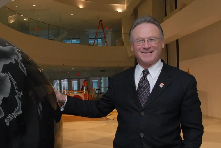 Former dean of the Fox School of Business and Management Moshe Porat.