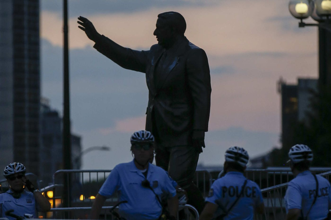 Frank Rizzo statue will remain in Center City until at least June 2021