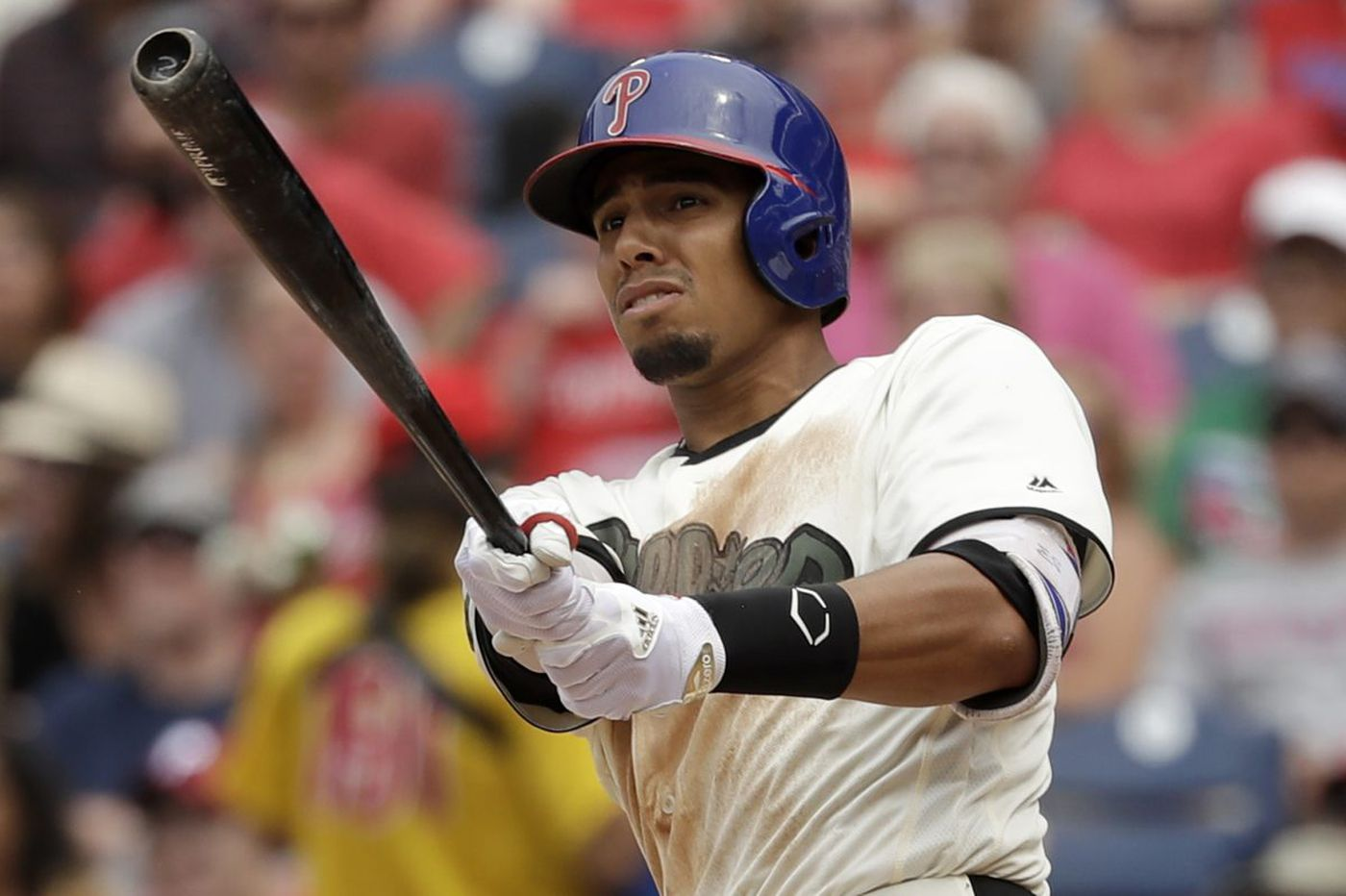 Phillies outfielder Aaron Altherr will be sidelined longer than expected