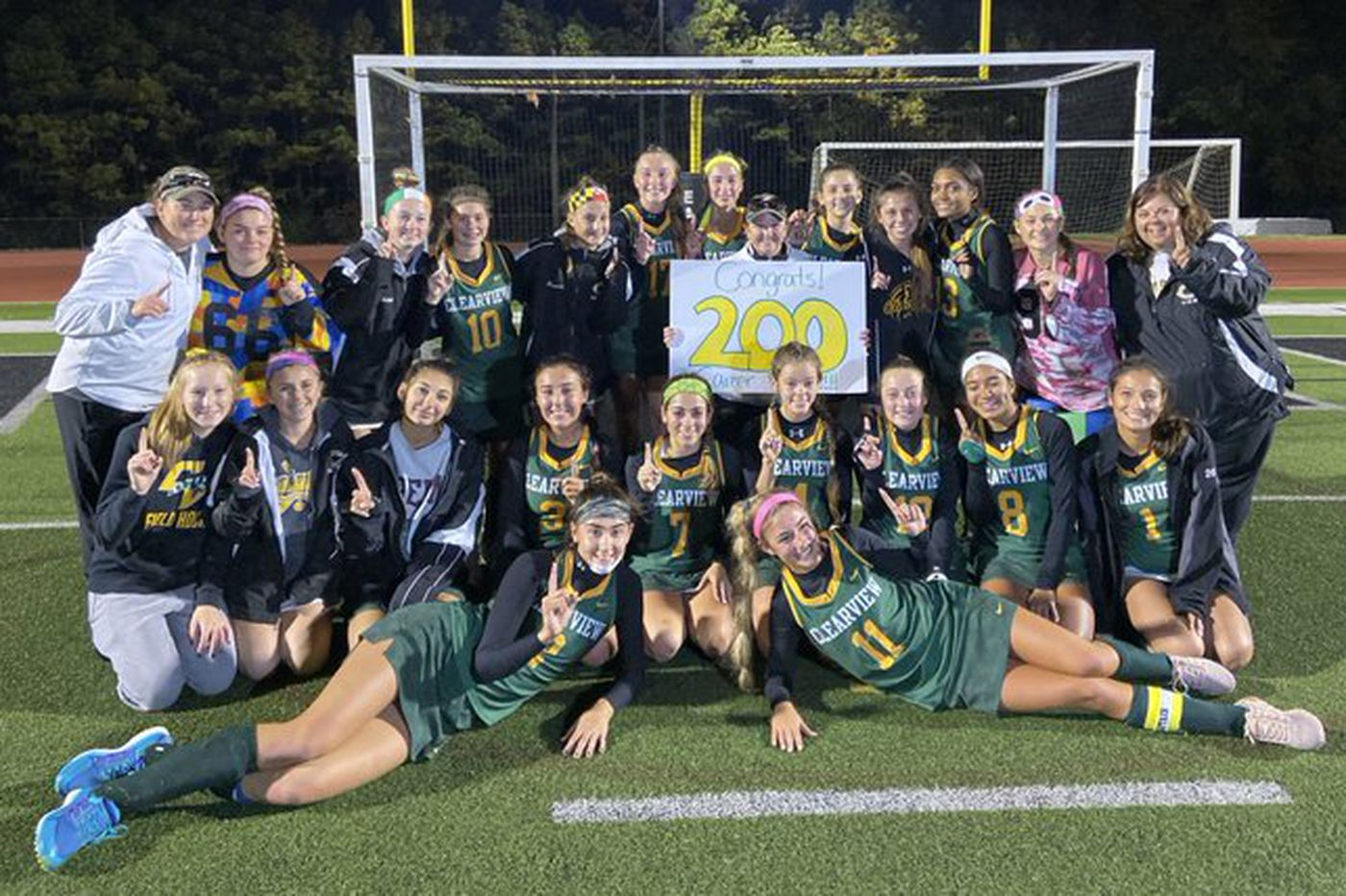 Tuesday's South Jersey roundup: Britney Ewan records 200th career win, Clearview field hockey beats Burlington Township in NJSIAA Group 3 semifinals