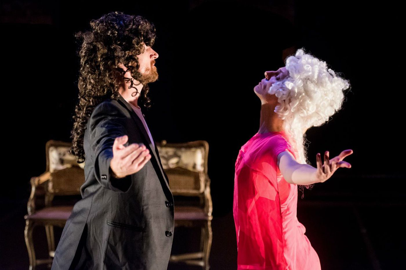 Theater Beat: Rocking their Pepys at FringeArts; Leah Walton in '2.5 Minute Ride'