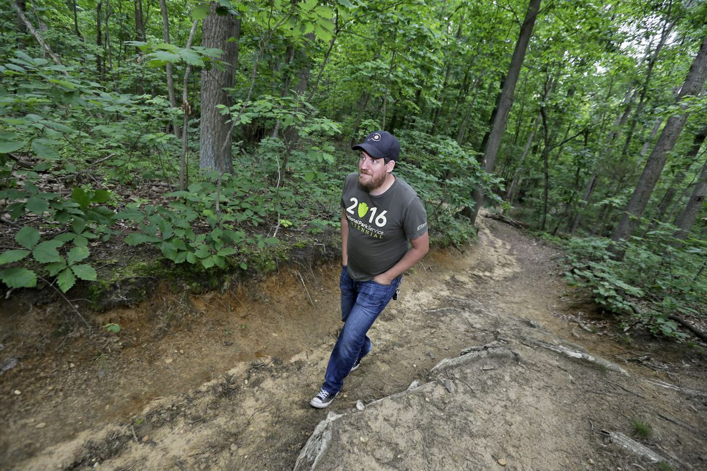 South Jersey man's hiking blog has half million fans, and climbing