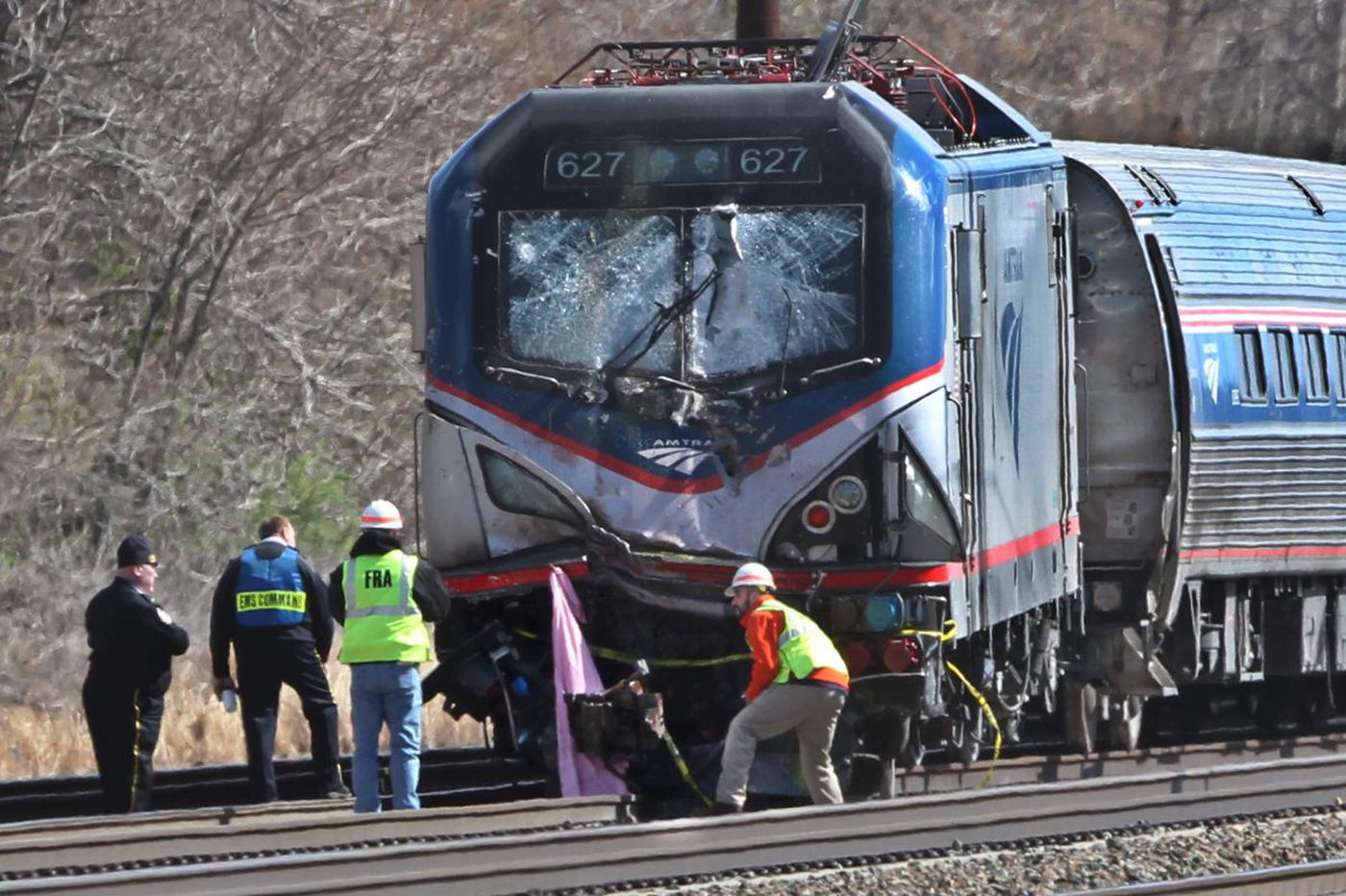 Amtrak worker fired for 2016 Chester derailment sues