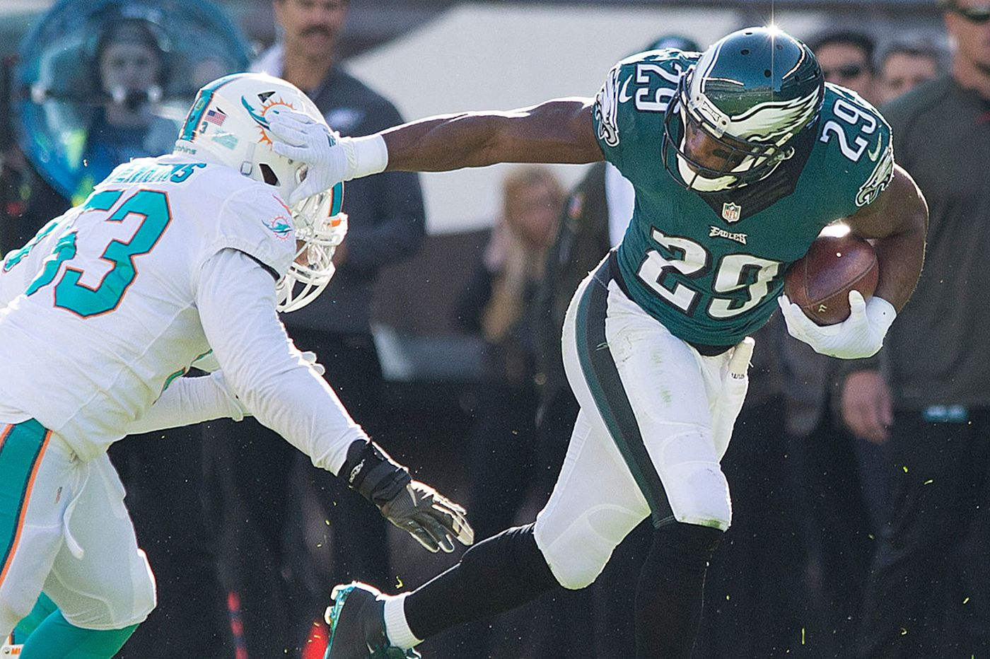 DeMarco Murray dodges questions on his slide