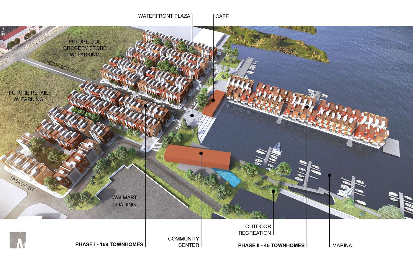 The tide turns on Delaware waterfront with two projects that
