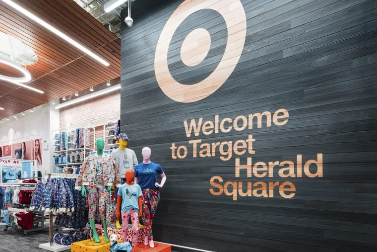 Target's new location at Herald Square in New York, one of a number of new stores across the country that are  about a third the size of the average Target store.