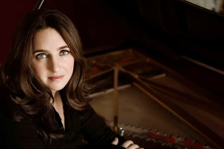 Pianist Simone Dinnerstein will perform Bach and Philip Glass this fall with the Chamber Orchestra of Philadelphia.