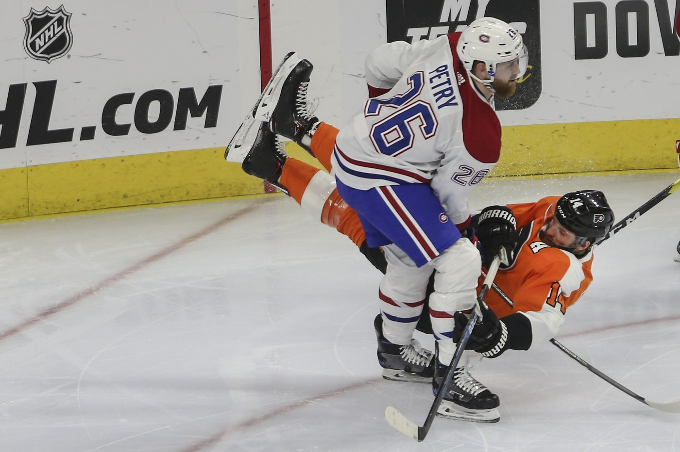 Flyers-Canadiens observations: Playoff hopes go from slim to slimmer