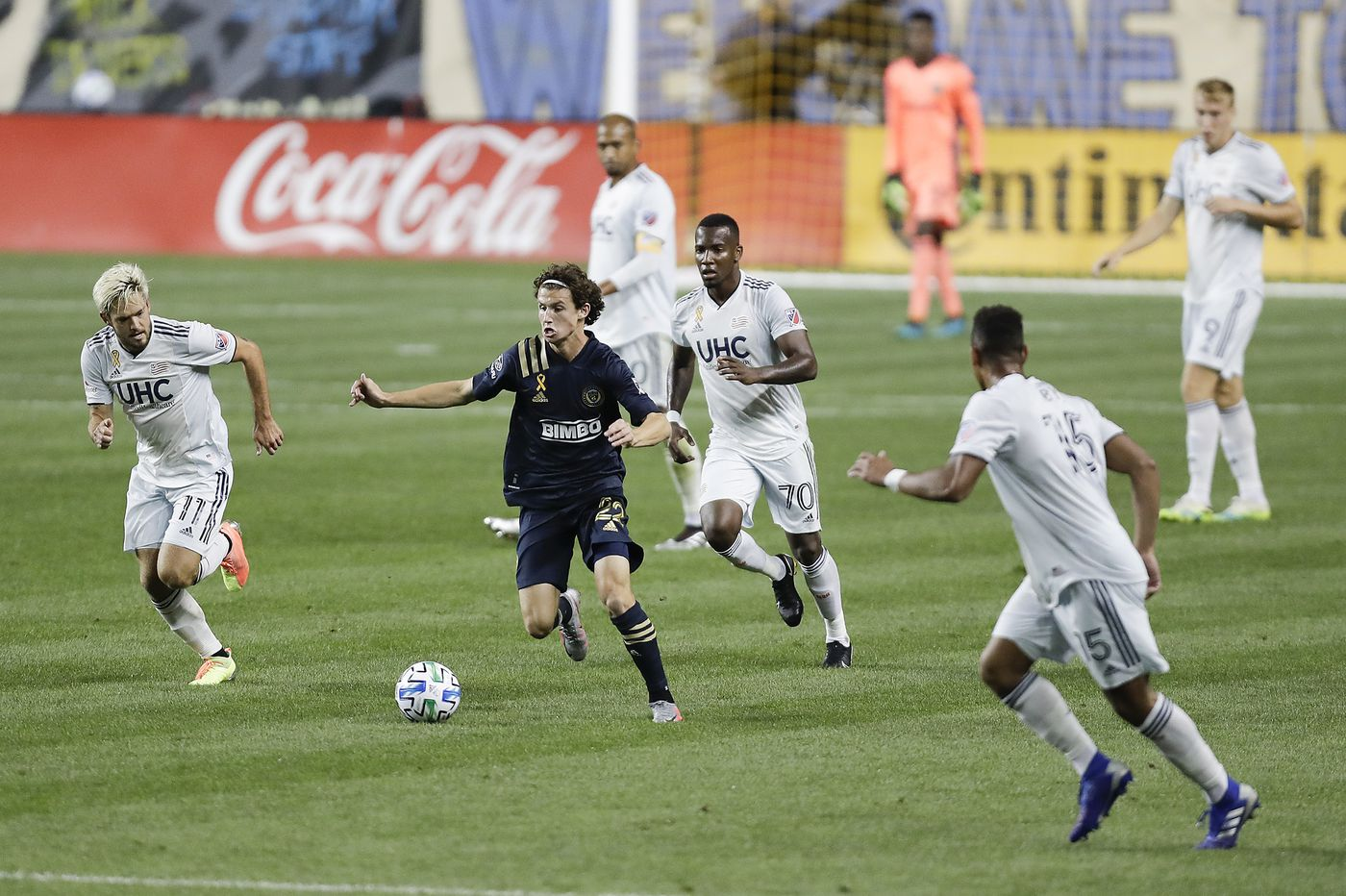 Brenden Aaronson, Ilsinho, and Jamiro Monteiro show the Union's skill at escaping opposing defenses