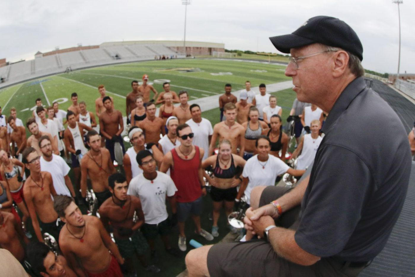 Drum corps chairman resigns amid scrutiny of his hiring of disgraced teacher