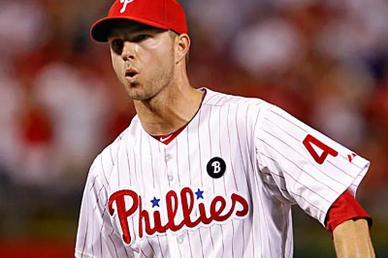 Ryan Madson will be eligible for free agency after this season. (Ron Cortes/Staff Photographer)