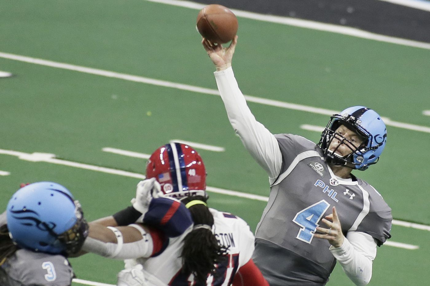 Soul owner Ron Jaworski believes the Arena Football League, down to
