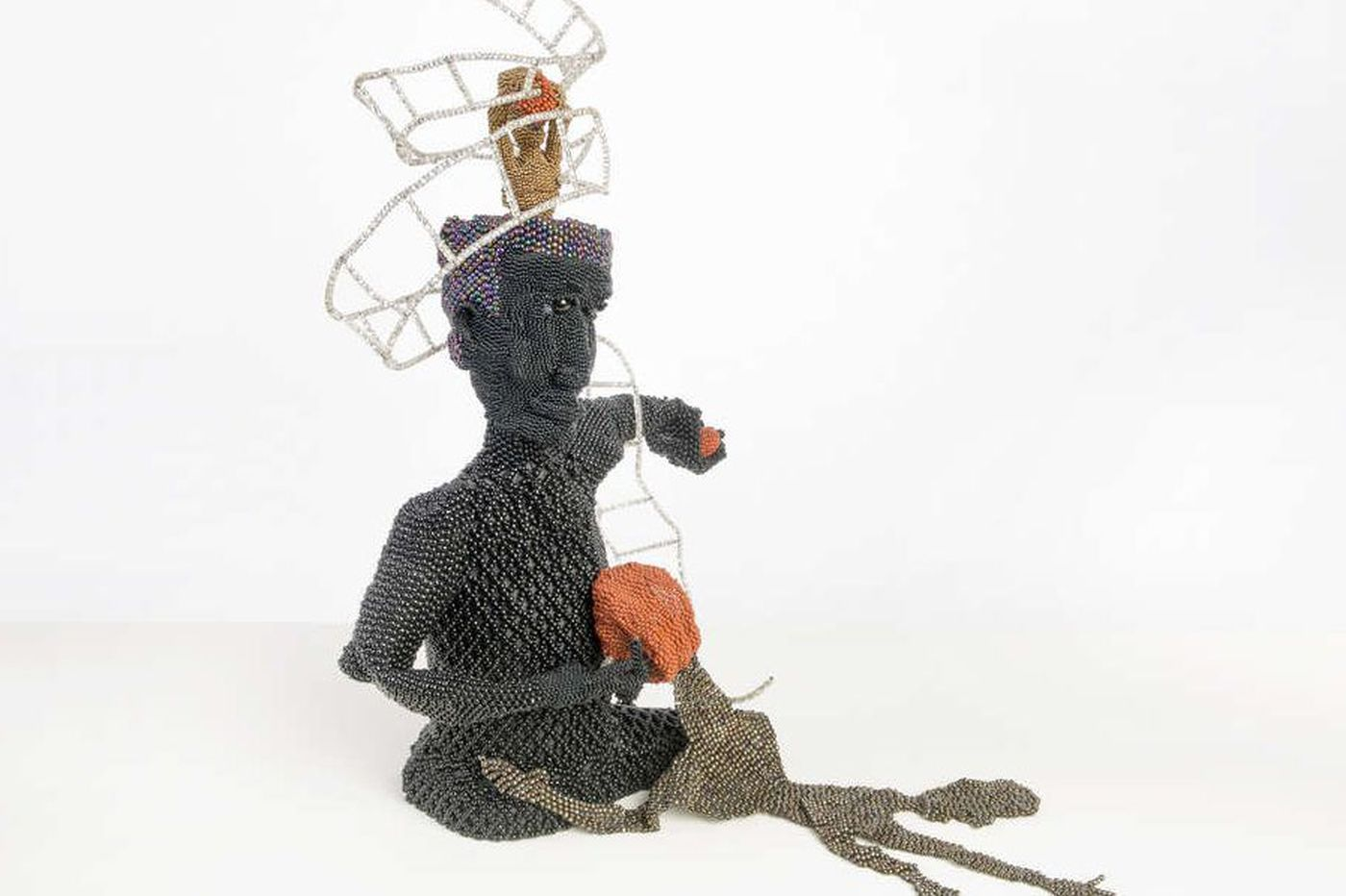 Joyce J. Scott at Grounds for Sculpture: A fierce vision in beads and glass