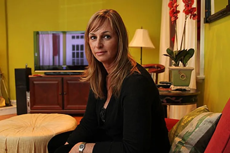 Karen Gotlieb's daughter is a student at Harriton High School. where faculty there are accused of spying on their web cam-equipped laptops. (Laurence Kesterson / Staff Photographer)