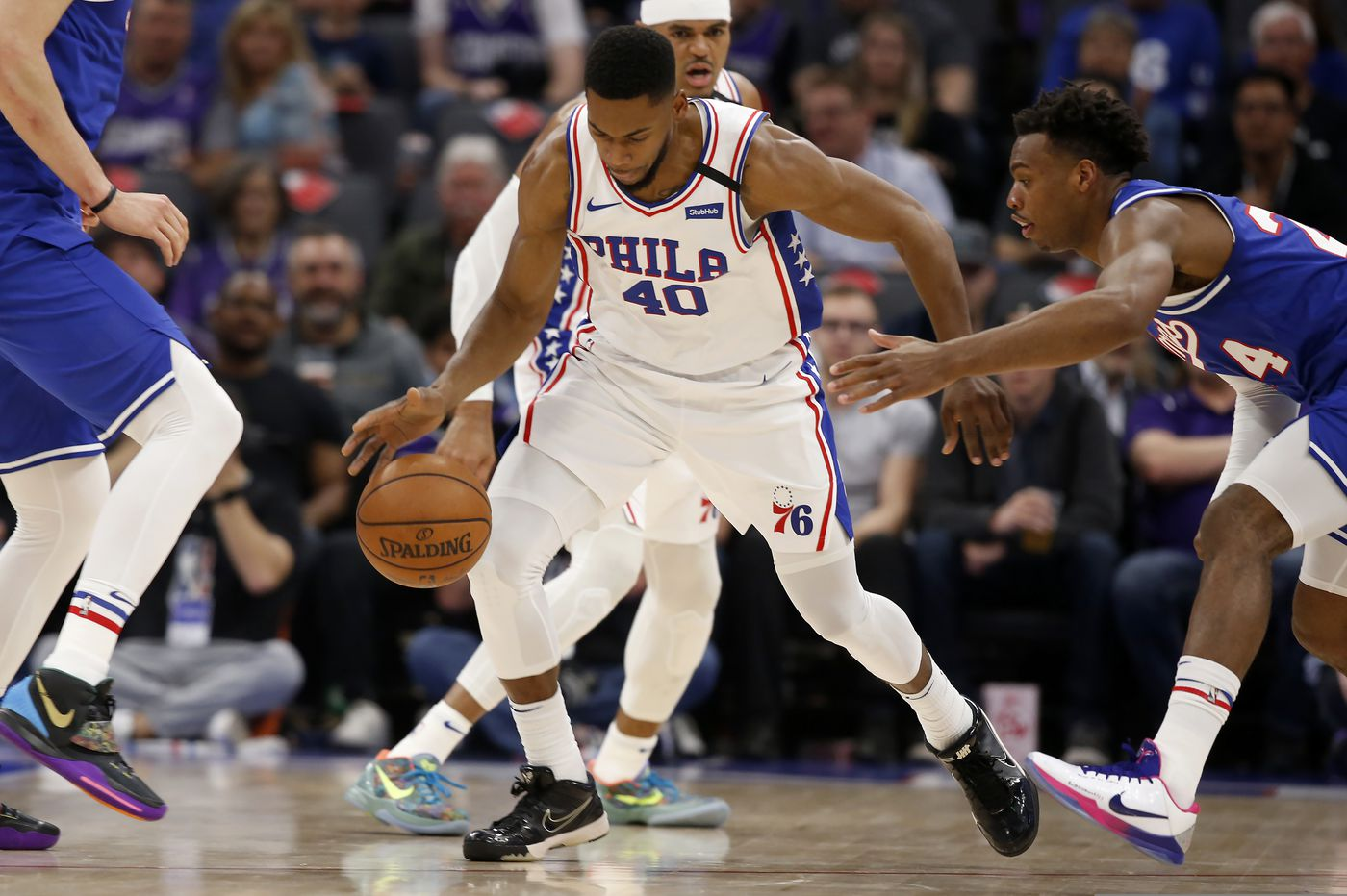 Sixers' Glenn Robinson III, Alec Burks excited about Golden State return