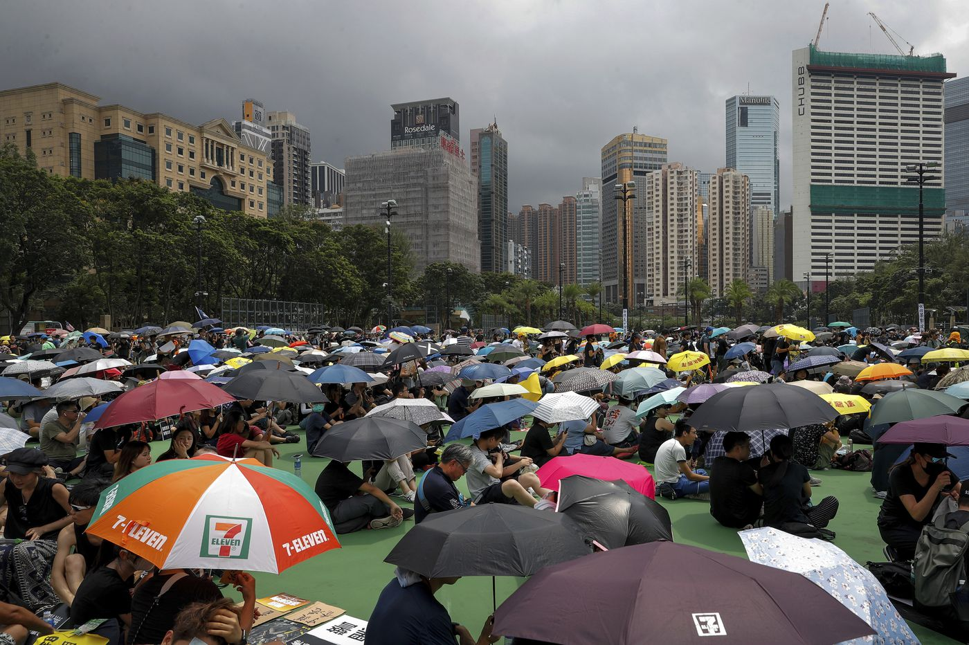 More protests underway in Hong Kong with no end in sight