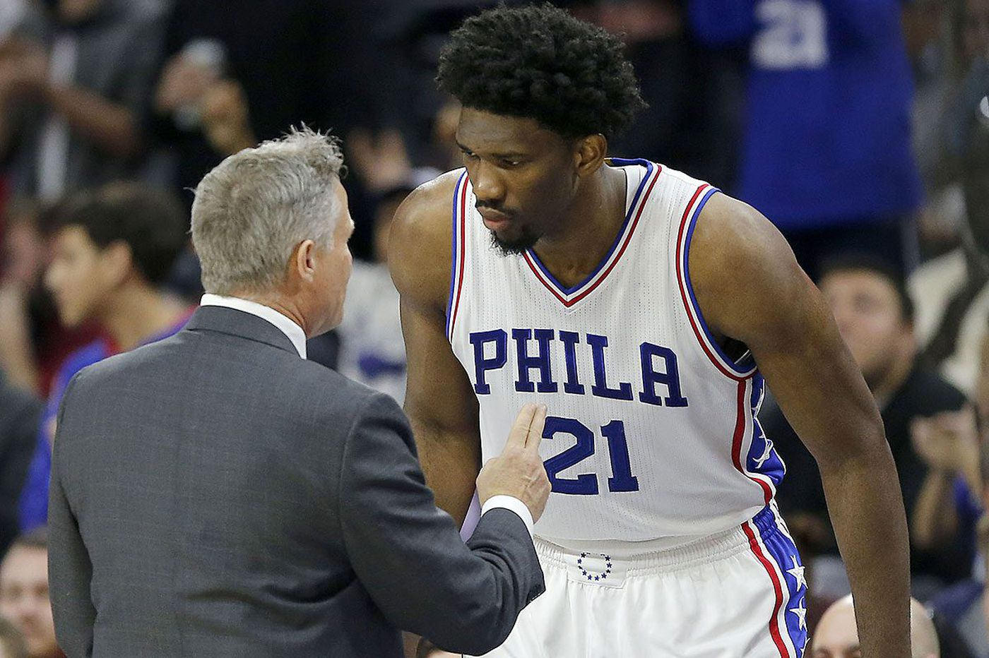 Sixers' Brett Brown mum on a definite minutes restriction for Joel Embiid