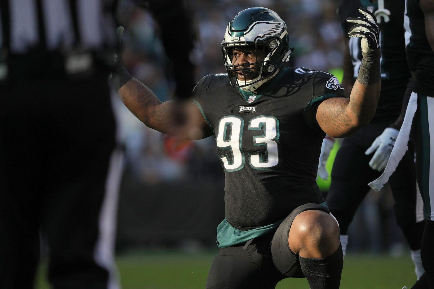 Eagles decline to pick up DT Tim Jernigan's option