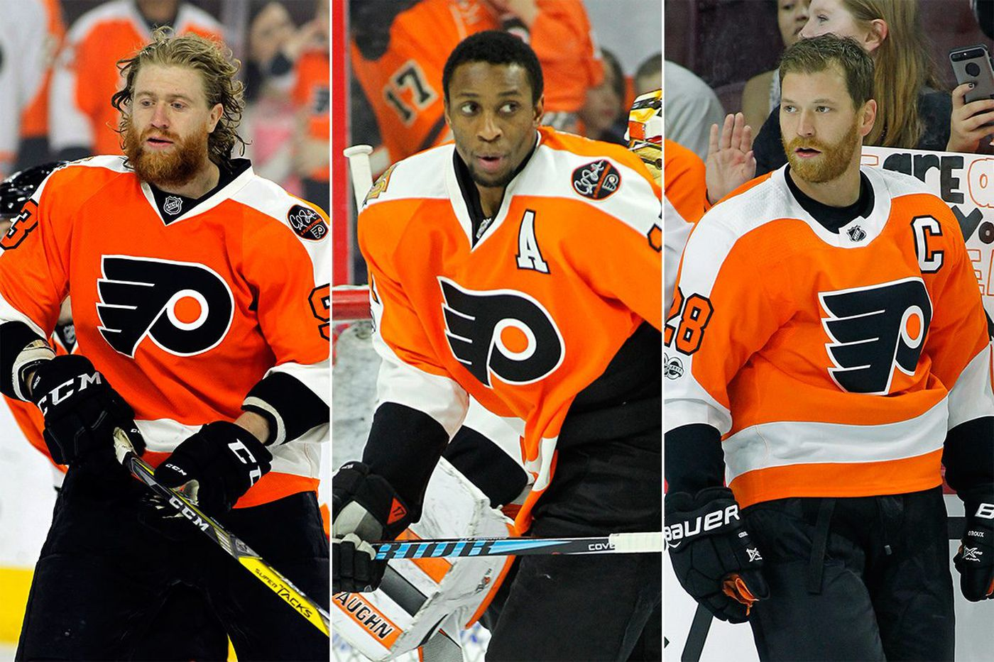 The bell tolls for Flyers' Core 3