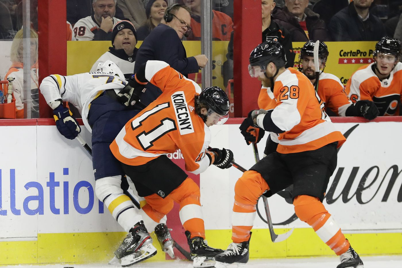 Flyers at midseason: Lots of improvement, but not yet a Stanley Cup contender | Sam Carchidi