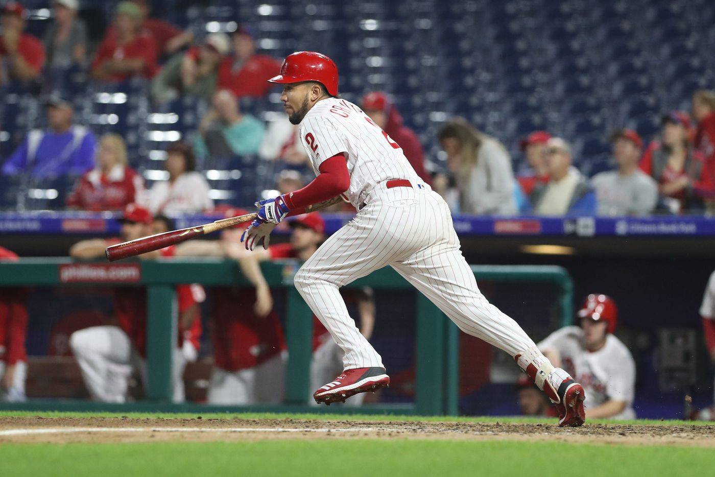 Phillies struggling to find time for J.P. Crawford