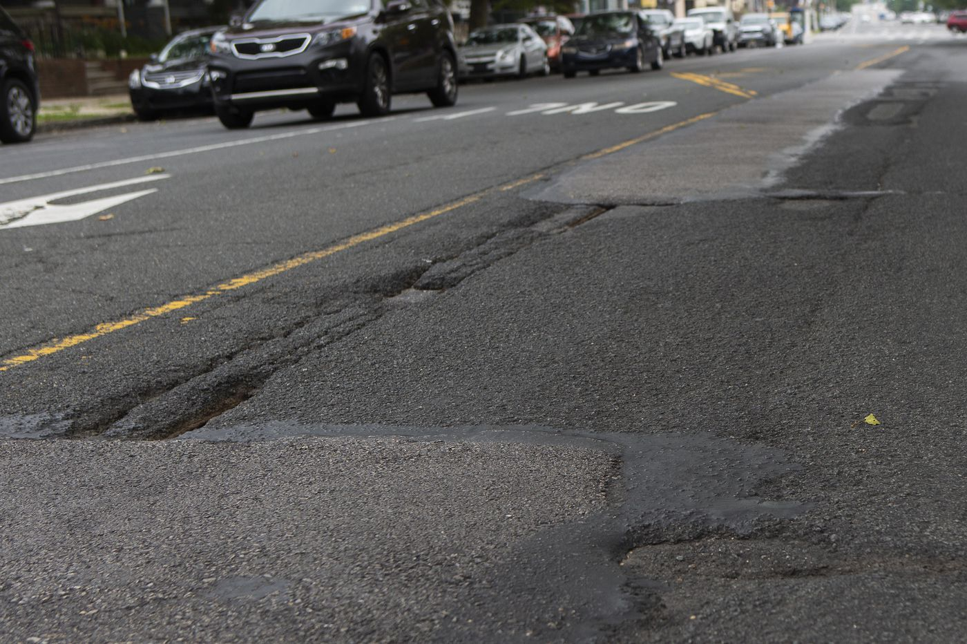 What Philly's most pothole-riddled streets have in common