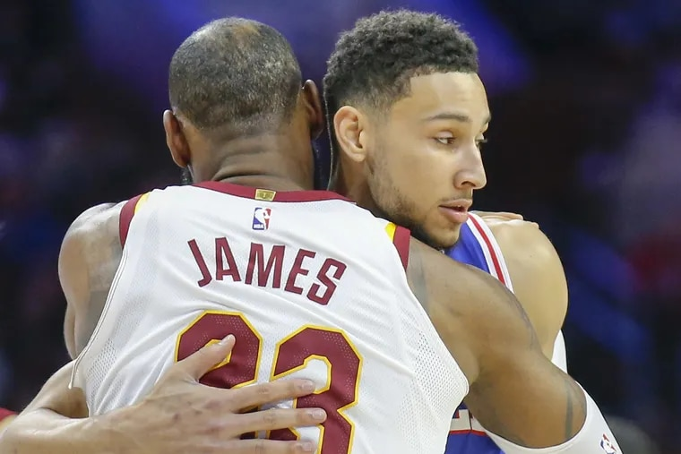 Philadelphia 76ers head coach Brett Brown hinted that the team may try to pursue signing LeBron James in free agency.