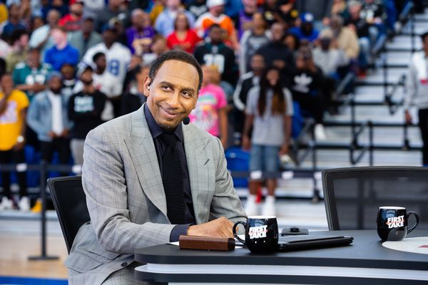 Stephen A. Smith's live 'First Take' included a bold Sixers prediction and a surprise