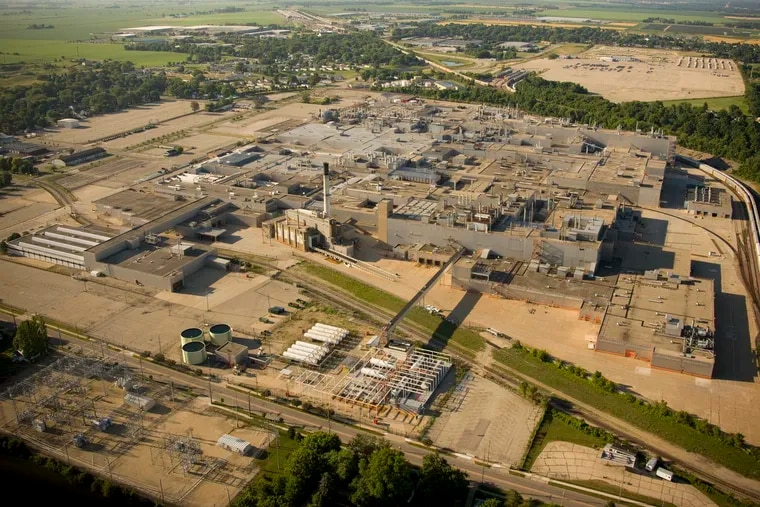 An aerial view of the closed General Motors assembly factory in Janesville, Wisconsin. (Dreamstime/TNS)