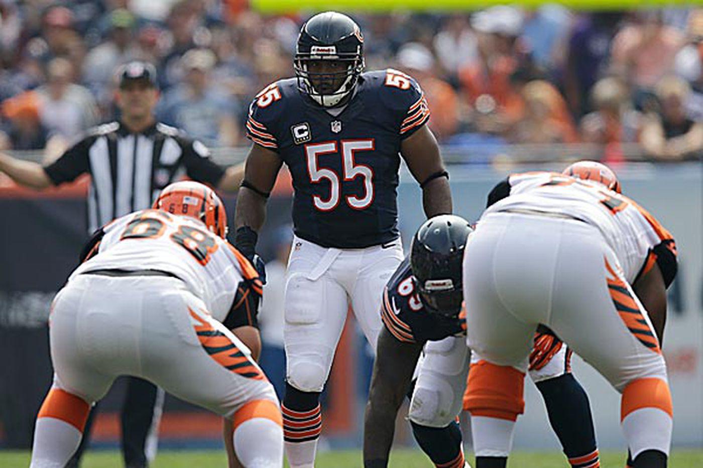 Linebacker Briggs could return for Bears