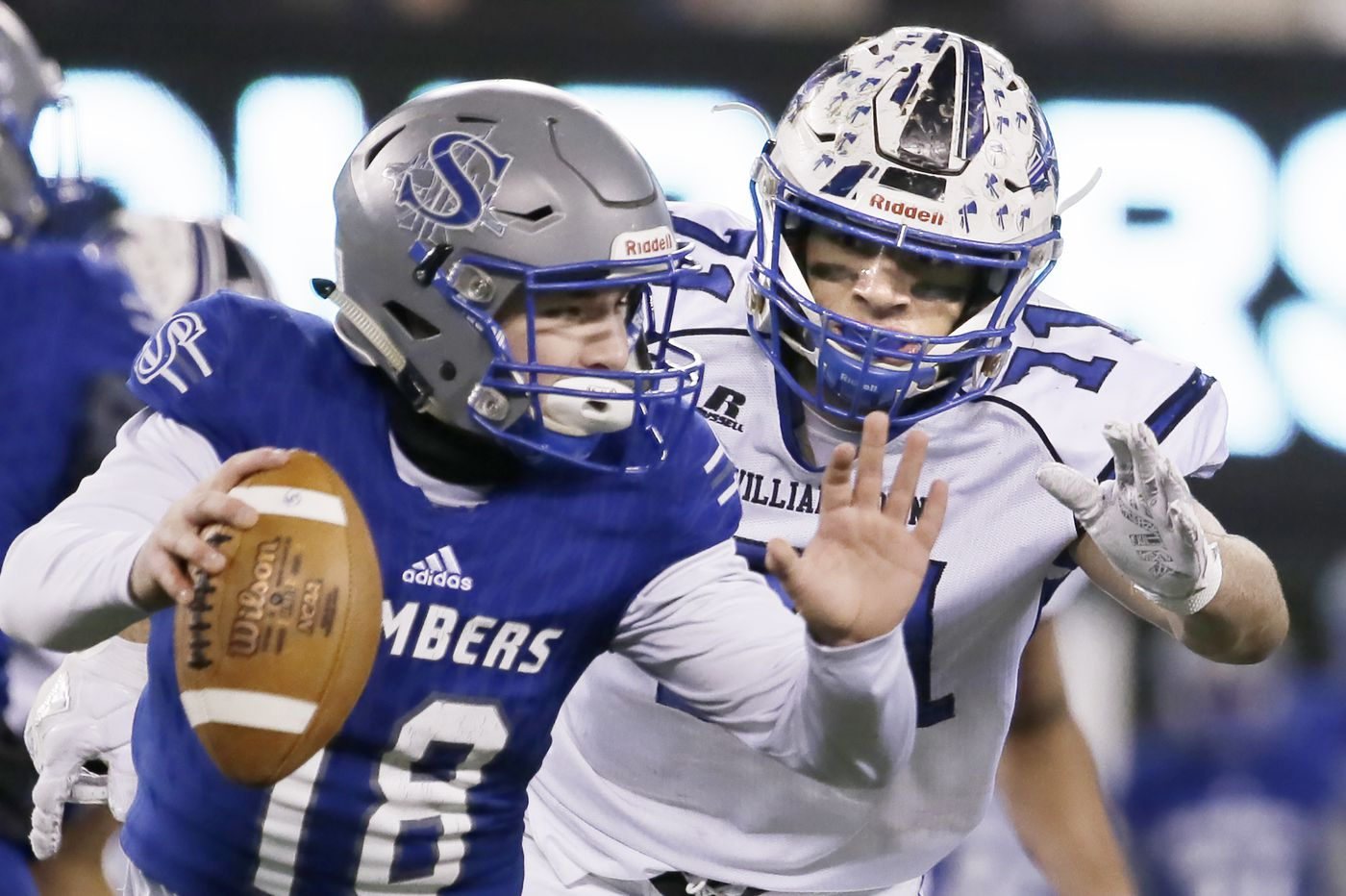 South Jersey defensive player of the year: Williamstown's Aaron Lewis finds his niche on the line
