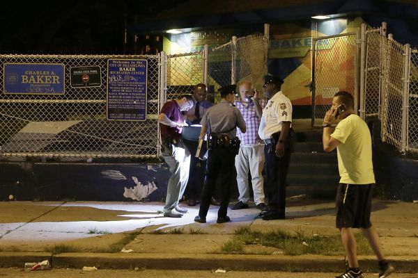 7 wounded in West Philly playground shooting