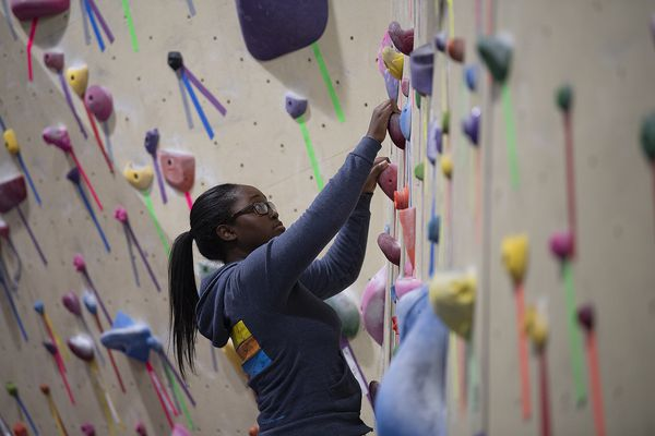 Philly's rock climbers of color gain a foothold at this meetup group