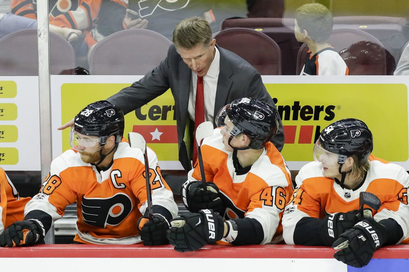 Flyers' surge up standings fueled by better play at ends of games