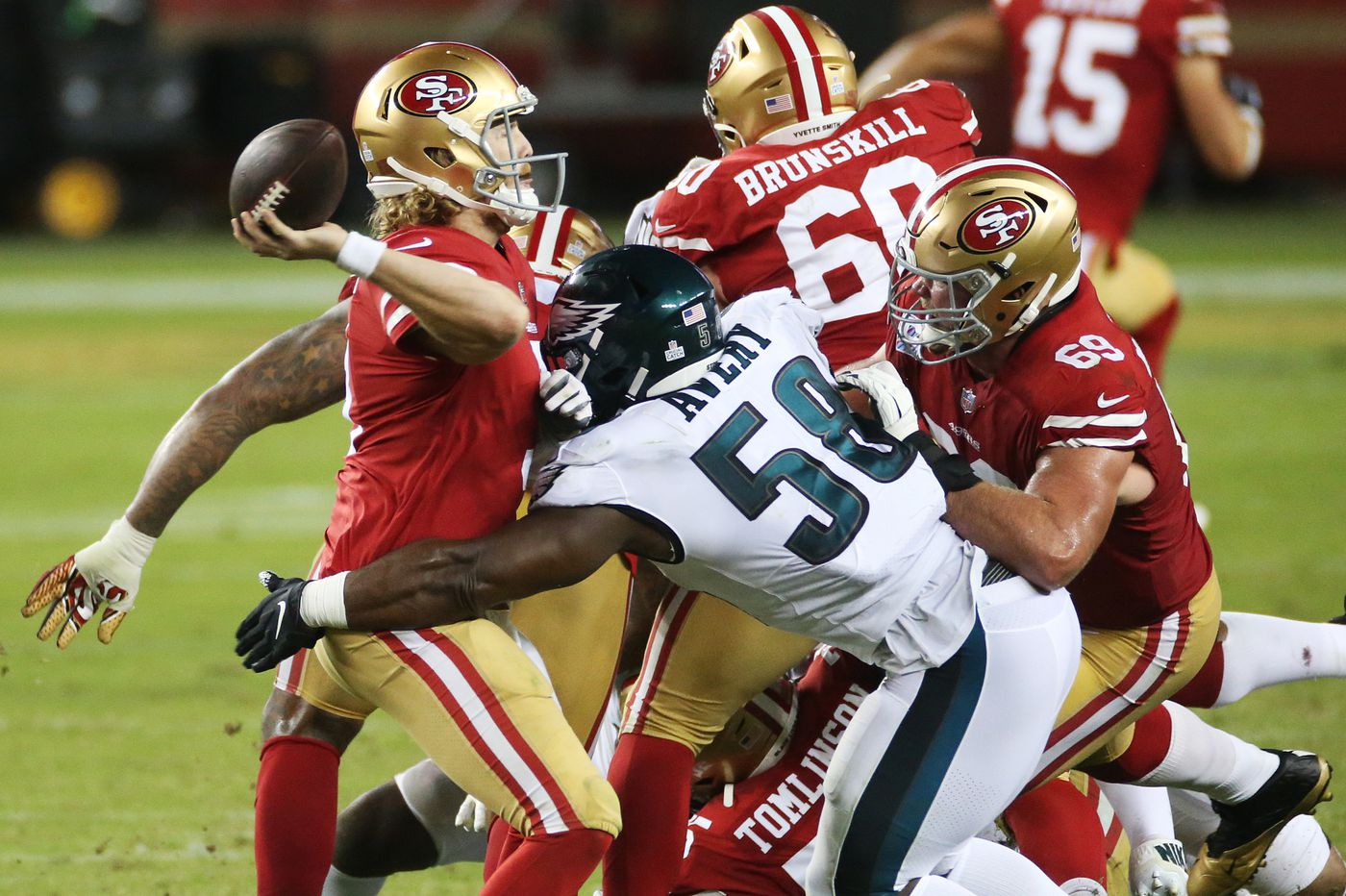 Five reasons why the Eagles beat the 49ers, elevating them to first place in the NFC East