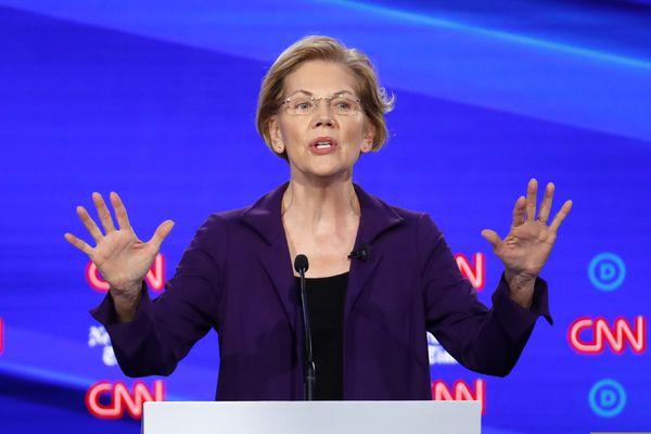 The 4th Democratic debate was an Elizabeth Warren pile-on
